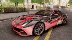 Ferrari F12 Berlinetta Kurumi Itasha Rezurrecti for GTA San Andreas