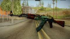 CS: GO AK-47 Fire Serpent Skin