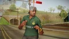 GTA 5 Online Guillermo Skin for GTA San Andreas