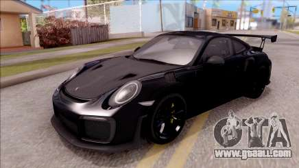 Porsche 911 GT2 RS 2017 SA Plate for GTA San Andreas