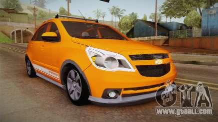 Chevrolet Agile Crossport Edition for GTA San Andreas