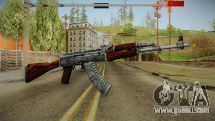 CS: GO AK-47 Cartel Skin for GTA San Andreas