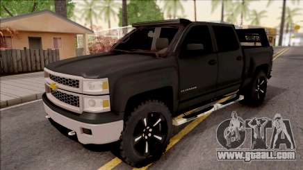 Chevrolet Silverado 2015 Off-Road for GTA San Andreas