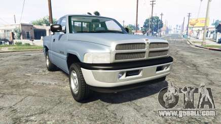 Dodge Ram 1500 1999 [add-on] for GTA 5