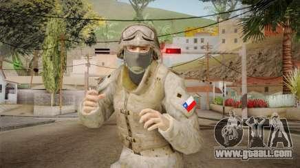 Soldado del Ejercito Chileno for GTA San Andreas