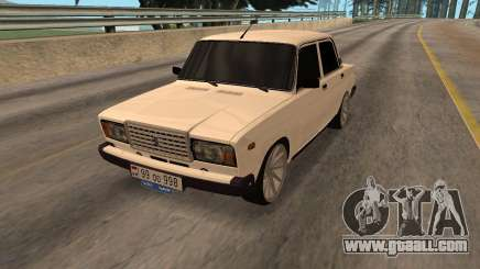 VAZ 2107 Armenian for GTA San Andreas