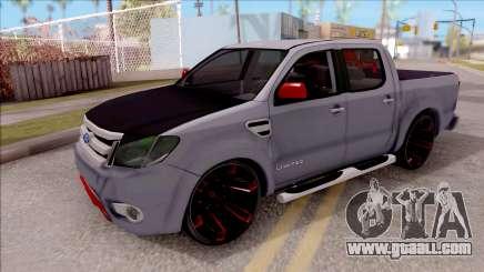 Ford Ranger 2014 Edition Flux Som for GTA San Andreas