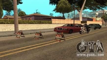 Roadblocks for GTA San Andreas