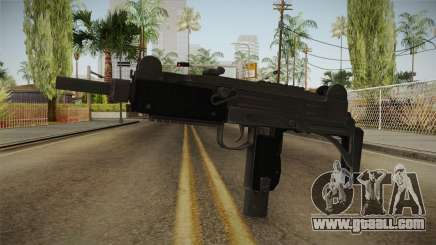 Battlefield Hardline Uzi for GTA San Andreas