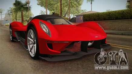 GTA 5 Dewbauchee Vagner SA for GTA San Andreas