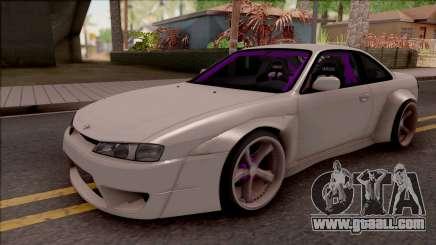 Nissan 200SX Drift Rocket Bunny for GTA San Andreas