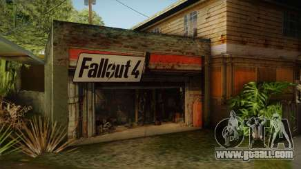 Fallout 4 Garage Texture HD for GTA San Andreas