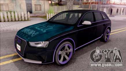 Audi RS4 Avant Edition Tron Legacy for GTA San Andreas