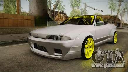 Nissan Skyline R32 Cabrio Drift Rocket Bunny v2 for GTA San Andreas