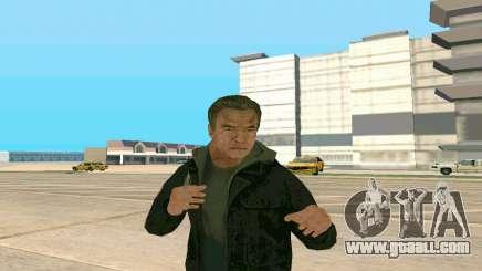 Arnold Schwarzenegger Terminator Genisys for GTA San Andreas