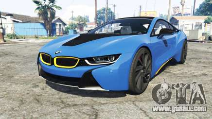 BMW i8 (I12) 2015 [add-on] for GTA 5