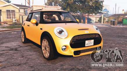 Mini Cooper S (F56) 2015 [add-on] for GTA 5