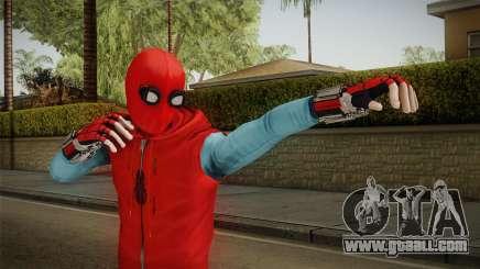 Marvel Heroes Omega - Homemade Suit v1 for GTA San Andreas
