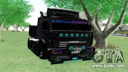KAMAZ 65115 BLACK NIGHT for GTA San Andreas