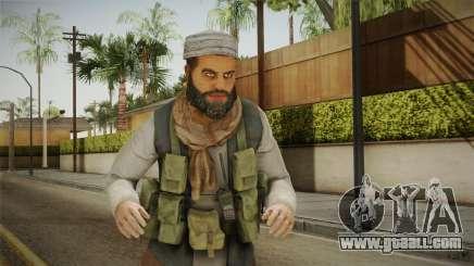 Medal Of Honor 2010 Taliban Skin v7 for GTA San Andreas