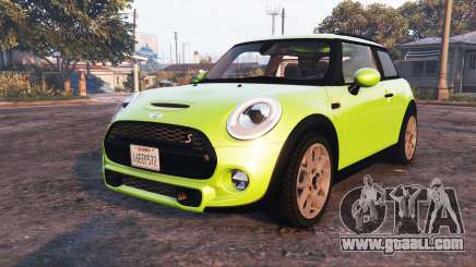 Mini Cooper S (F56) 2015 [replace] for GTA 5