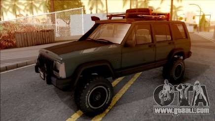Jeep Cherokee 1984 Off-Road for GTA San Andreas