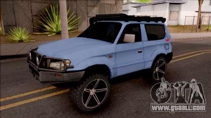 Toyota Meru Off-Road for GTA San Andreas