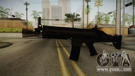 Mirror Edge FN SCAR-L for GTA San Andreas