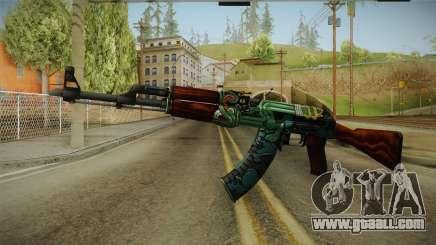 CS: GO AK-47 Fire Serpent Skin for GTA San Andreas