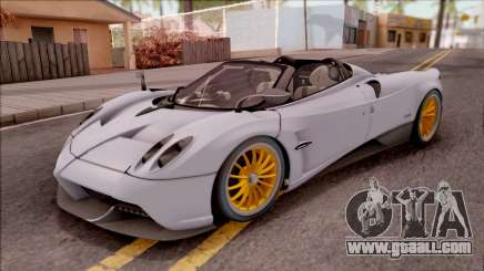 Pagani Huayra Roadster 2017 for GTA San Andreas
