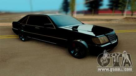 Mercedes Benz W140 Brabus for GTA San Andreas