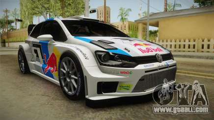Volkswagen Polo R WRC for GTA San Andreas