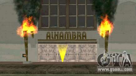 Get the money and saved in a nightclub for GTA San Andreas