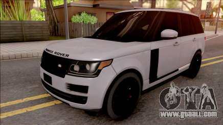 Range Rover Vogue Sport 2017 for GTA San Andreas