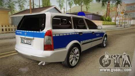 Opel Astra G Politia Romana for GTA San Andreas right view