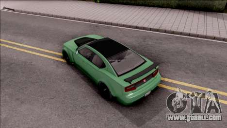 GTA V Bravado Buffalo Edition v1 for GTA San Andreas back view