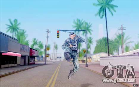Colonel Cooper of S. T. A. L. K. E. R for GTA San Andreas fifth screenshot