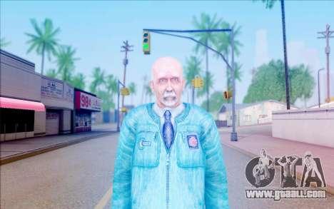 A scientist from S. T. A. L. K. E. R for GTA San Andreas third screenshot