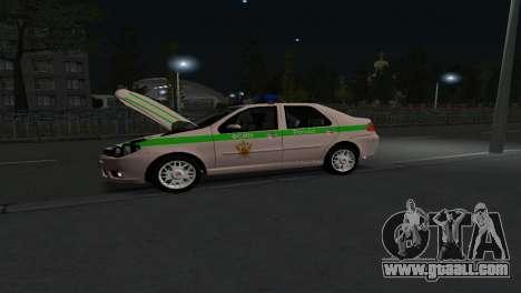 Fiat Albea FSIN for GTA San Andreas back left view