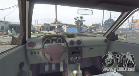 GTA 5 SAIPA 131 SL [replace] rear right side view
