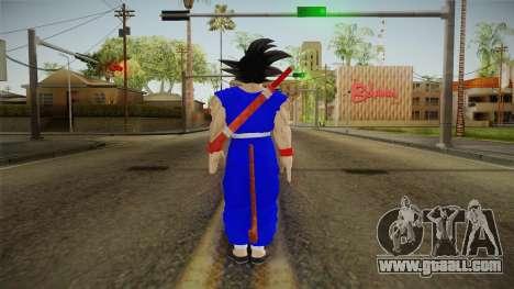 Goku Original DB Gi Blue v1 for GTA San Andreas third screenshot