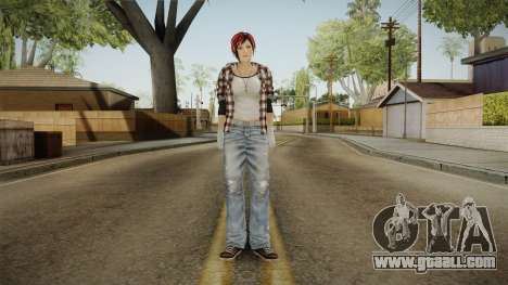 Dead Or Alive 5 - Mila for GTA San Andreas second screenshot