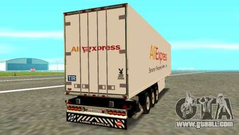 Trailer Aliexpress for GTA San Andreas left view