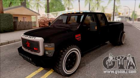 Ford F-350 Super Duty Low Style for GTA San Andreas