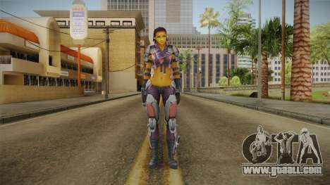 Ghost In A Shell - Maven Reskinned for GTA San Andreas second screenshot