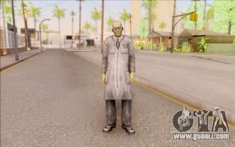 Zombie scientist from S. T. A. L. K. E. R. for GTA San Andreas second screenshot