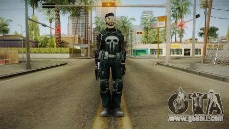 Punisher Omega Skin for GTA San Andreas second screenshot