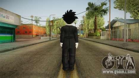 Gohan Suit Skin for GTA San Andreas third screenshot