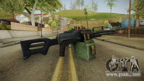 Battlefield 4 - PKP Light Machine Gun for GTA San Andreas third screenshot
