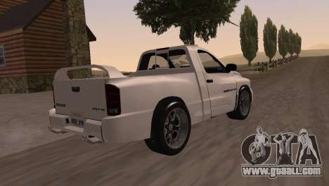 Dodge RAM SRT-10 for GTA San Andreas